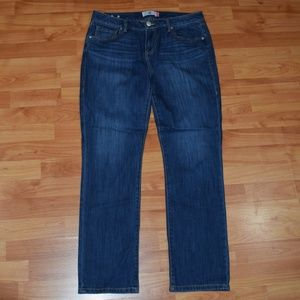 """CABI JEANS """"THE STRAIGHT""""  Women's sz 10 JEANS"""